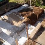 青山霊園で墓所のリフォーム工事