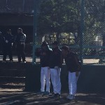 葛飾法人会の新小岩地区で、野球教室!