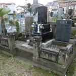 船橋市の町営墓地で。納骨法要 火葬場から