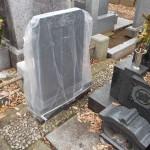 雑司ヶ谷霊園で戒名追加彫刻