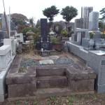 八柱霊園で墓所撤去/返還工事をしました