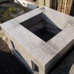 江戸川区瑞江のお寺で墓所工事をしました/完成しました