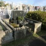 染井霊園でお墓のリフォーム工事をしました/納骨法要のお手伝いに行きました