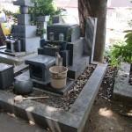 千葉県市川市 法華経寺のお墓を直しました