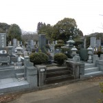 千葉平和公園でお墓の更地返還工事をしました