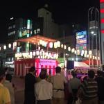 東京ドームシティに行ってきました / 虹が見えました / 新小岩駅前で歌謡ショーがありました