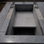 江戸川区のお寺で墓所工事をしました