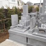 江戸川区のお寺で墓石が完成しました