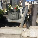 葛飾区新小岩のお寺で納骨法要のお手伝いをしてきました