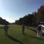 町会のゴルフコンペに参加しました