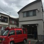 消防団の震災訓練に参加しました
