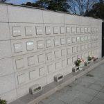 青山霊園の立体埋蔵施設に彫刻しました