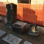 江戸川区のお寺で昔のお墓を移動しました