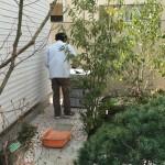 江戸川区小岩の方のお庭にお稲荷様の台座を作りました/お稲荷様を設置しました
