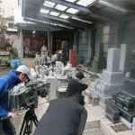 テレビ朝日 スーパーJチャンネルがロケに来ました