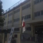 葛飾区新小岩の小学校の入学式に参加しました