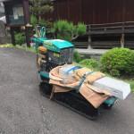 金沢文庫の坂道の凄いお寺で工事です/工事が完成しました