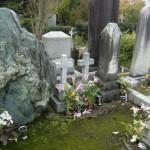 大理石のお墓について
