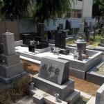 谷中霊園のお墓が完成しました