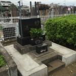 染井霊園へ納骨法要のお手伝いに行きました