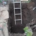青山霊園で墓所の改修工事を行いました