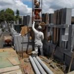 江戸川区のお寺で新規墓所/杭基礎工事/完成いたしました