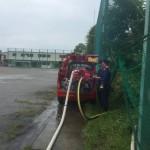 消防団の機関点検に参加しました