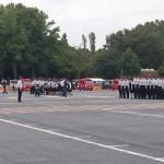 消防団の合同点検に参加しました
