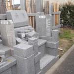 江戸川区のお寺で墓所工事が完成いたしました