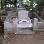 青山霊園でお墓の設置工事をしました