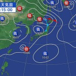 台風が接近しております