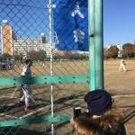 野球教室の手伝いに行ってきました