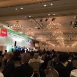 東京土建の記念式典に出席しました
