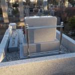 雑司ヶ谷霊園でステンレス製の塔婆立てを建てました