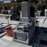 新宿霊園で建墓工事を行いました