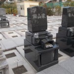 葛飾区グリーンパーク新宿霊園で建墓工事を行いました