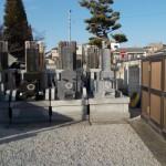 江戸川区のお寺での建墓工事が完成しました