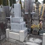 江戸川区のお寺で建墓工事を行いました