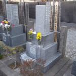 江戸川区のお寺で、正面文字の再彫刻を行いました