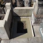 江戸川区のお寺で基礎工事/建墓工事を行いました