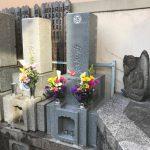 浅草の寺院墓地にて、インド銀河を使用した和型のお墓が完成しました。